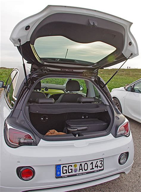 opel adam trunk first test opel adam pr 248 vek 248 rsel biltest bilanmeldelse