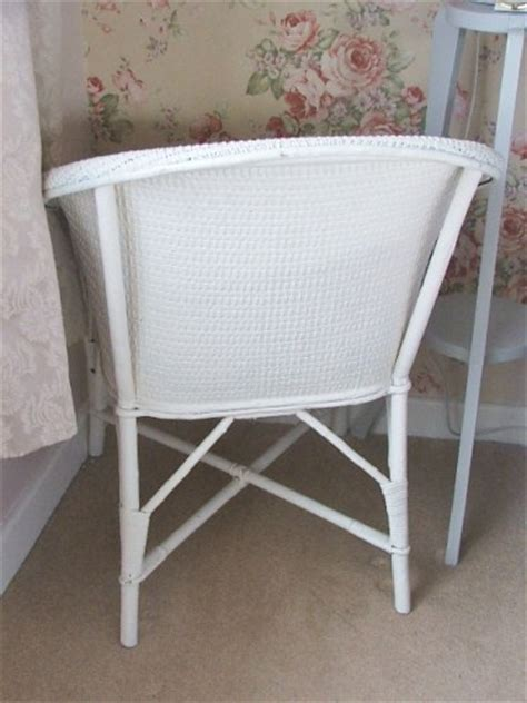 painting wicker chairs uk vintage white painted wicker chair