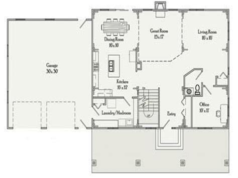 Rectangle House Plans | rectangular house plans 3 bedroom 2 bath simple