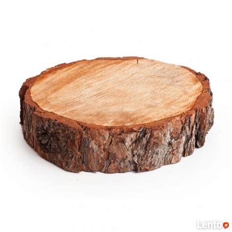 krążki plastry plasterki drewna drzewa