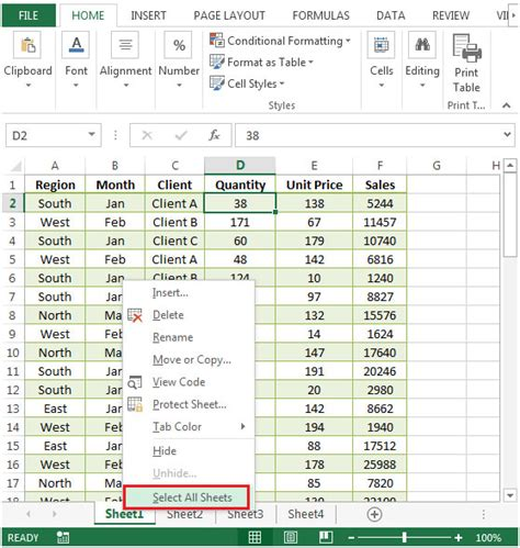page layout ms excel 2010 copying the page setup to other sheets in microsoft excel