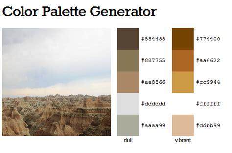 home color palette generator serenity now highlighted