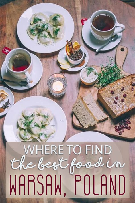 Find In Poland Where To Find The Best Food In Warsaw Poland The Abroad