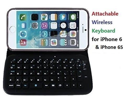 for iphone 6 6s shock proof pu leather with wireless bluetooth keyboard iphone 6 6s
