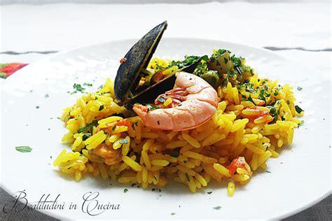 come si cucina la paella di pesce paella di pesce beatitudini in cucina