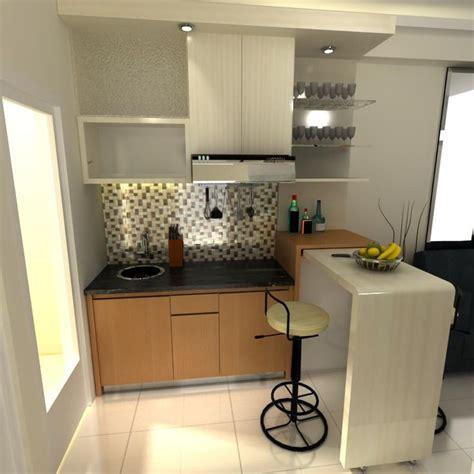 design dapur apartment meja bar di dapur rumah minimalis 187 gambar 715 home