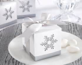 Winter Favors For by Quot Winter Dreams Quot Laser Cut Snowflake Favor Box Set Of 24