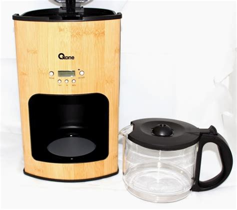 Coffee Maker Termurah oxone bamboo coffee and tea maker ox 952 lakupon