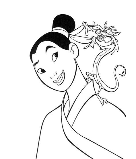 princess coloring pages mulan free disney princess masks coloring pages
