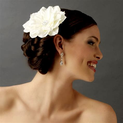 Wedding Hair Flower by Hydrangea Bridal Hair Flower Elana Walker Presents The