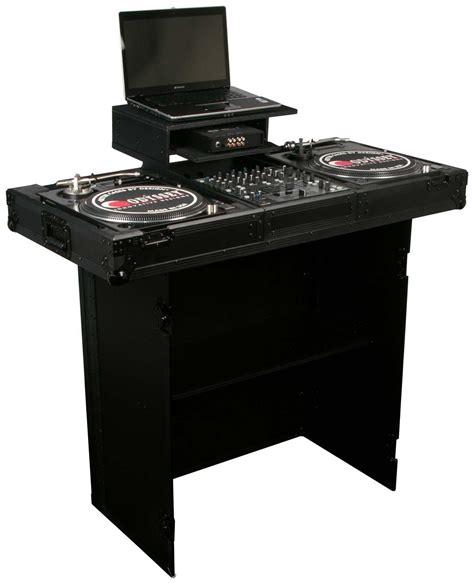 Dj Stand Table by Odyssey Fzf3336bl Black Label Heavy Duty Dj Stand Agiprodj