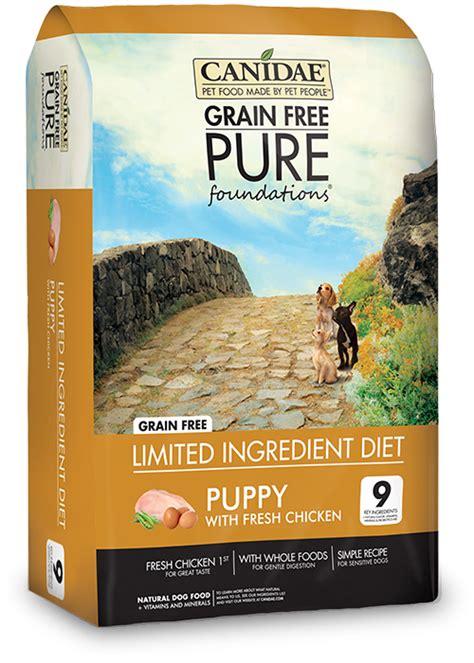 canidae puppy canidae grain free foundations puppy formula 1 8kg