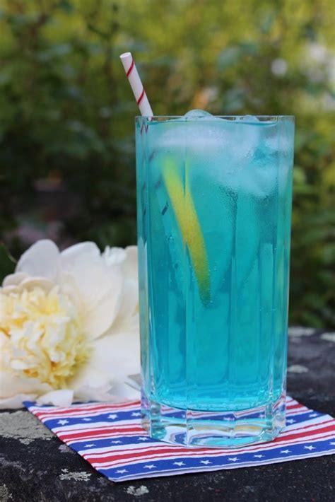 electric blue lemonade drink recipe   chef debra ponzek aux delices foods