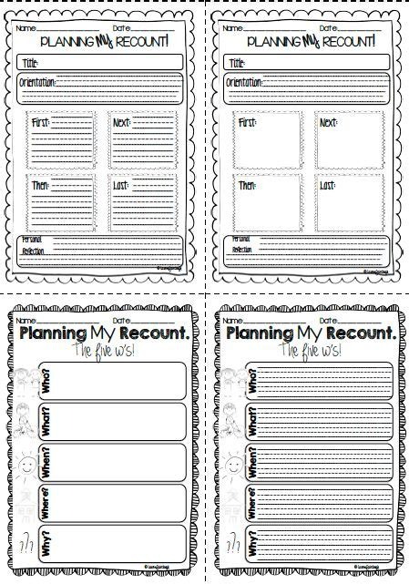 letter writing format primary resources 25 best recount writing ideas on