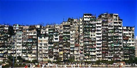 infographic life inside the kowloon walled city archdaily