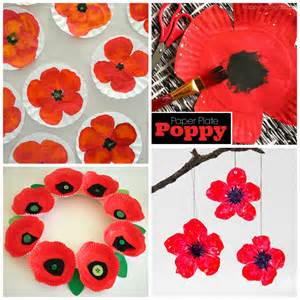Poppy Template For Children by Beautiful Poppy Crafts For To Make Crafty Morning