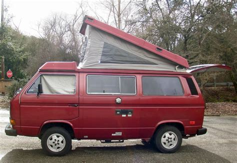volkswagen vanagon 1987 1987 vw vanagon westfalia cer for sale in sf ca