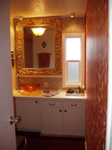 mobile home bathroom the best mobile home remodel ever