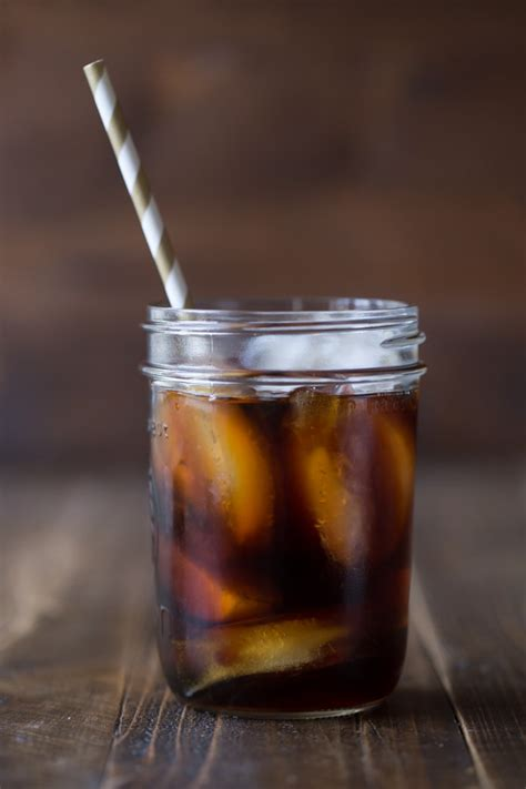 Cold Brew Iced Coffee and Homemade Vanilla Coffee Creamer   Lovely Little Kitchen
