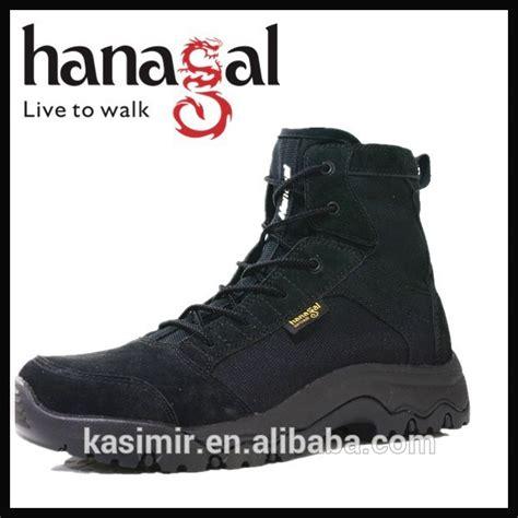 Sepatu Pria Safety Boot Pria Mb Smouth Black Ujung Besi sepatu bot tentara warna hitam kulit suede sepatu taktis