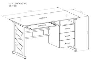 Average Desk Size by Standard Height For A Desk Hostgarcia