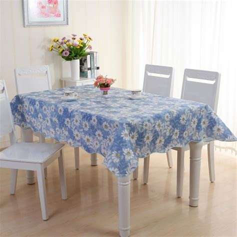 waterproof pvc vinyl wipe clean tablecloth dining kitchen