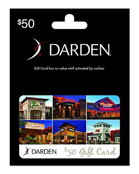 Dardens Gift Cards - darden restaurants 50 gift card arts entertainment party celebration giving cards