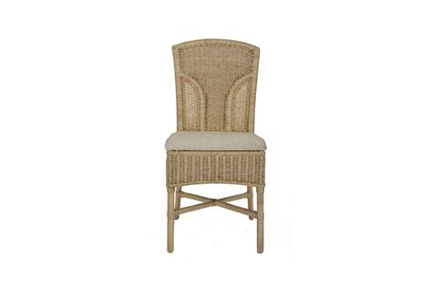 brook wicker rattan conservatory furniture dining chair