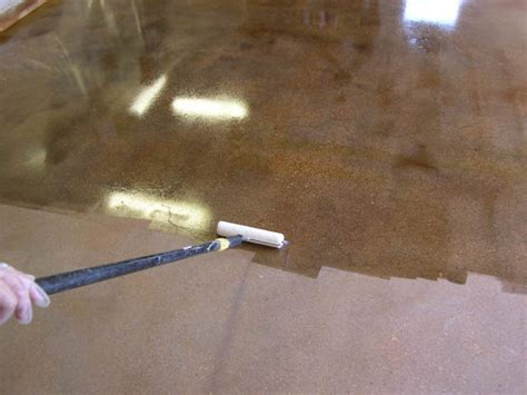 sealer for stained concrete floors
