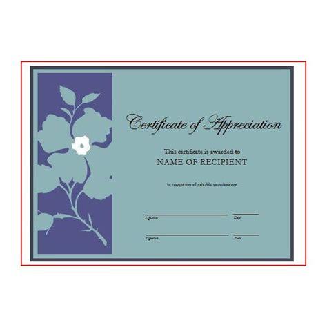 volunteer appreciation certificates free templates award wording sles invitations ideas