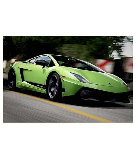 Lamborghini Styles by Av Styles Beautiful Green Lamborghini Poster Buy Av
