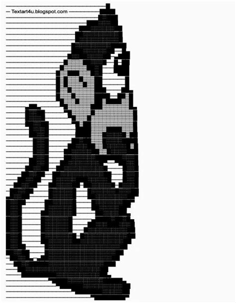 thinking monkey copy paste text art cool ascii text art