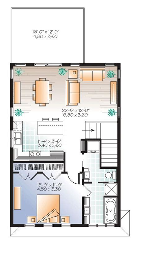 garage apartment floor plan best 25 garage apartments ideas on pinterest