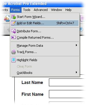 create a fillable pdf form from a word document | hart800