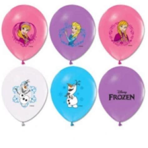 Balon Bulat Frozen Stik 4 1 frozen baskılı pastel renk balon