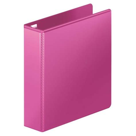 Binder Lotso Pink 20ring wilson jones power pink ultra duty d ring view binders