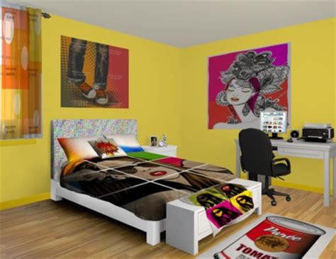 Pop Bedroom Decor Pop Bedrooms Interior Designing Ideas