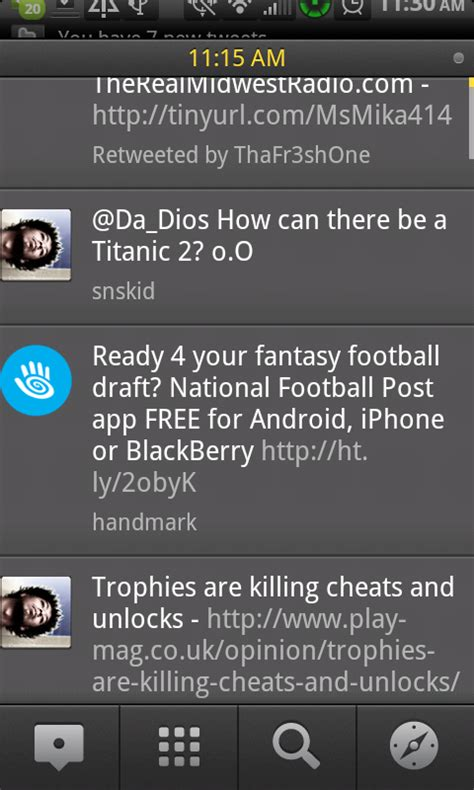 tweetdeck for android tweetdeck for android beta leaked screenshots