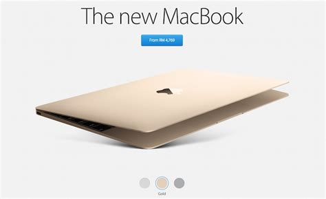 Macbook In Malaysia all new macbook now available for purchase on apple malaysia store from rm4 769 lowyat net