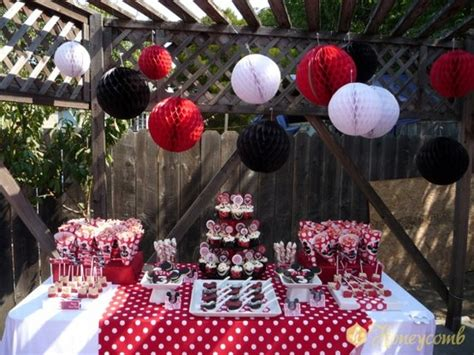 printable party decorations etsy minnie mouse printable birthday party by honeycombevents