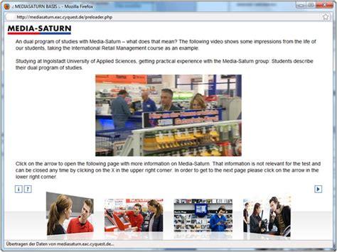 Bewerbung Hochschule Ingolstadt Assessment Bei Media Saturn Erweitert Um Personalmarketing Botschaften