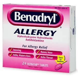 can u give a benadryl can i give my benadryl answer not recommended images frompo