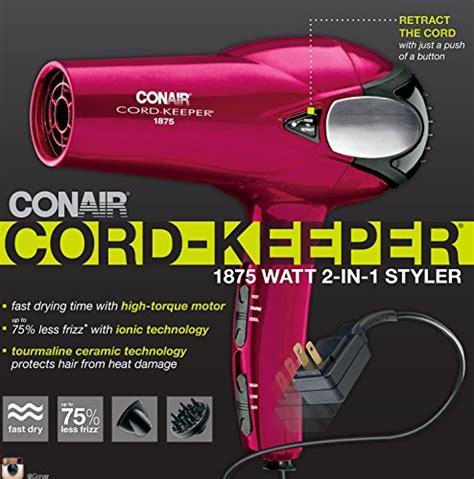 Conair Hair Dryer Malaysia free shipping conair 1875 watt cord keeper 2 in 1 styler