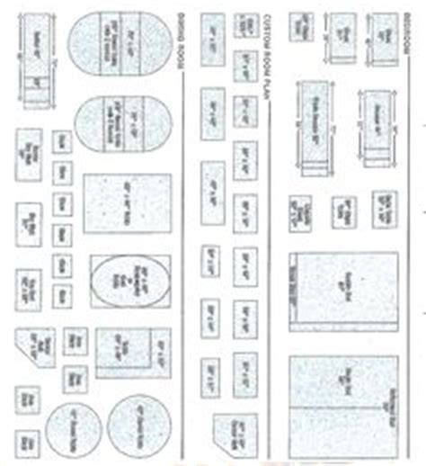 free printable furniture templates furniture template dolls house 1 48 188 inch scale on pinterest dollhouses
