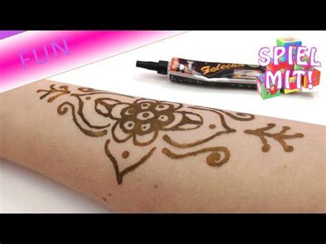 henna tattoo hand anf nger henna am fuss tutorial viktoriasarina