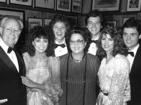 Of Osmond Family Singers Dies by Singer Donny Osmond With Family At Opening Of