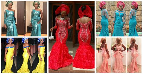 Latest Lace Styles 2016 | 9 magnificent aso ebi in lace styles 2016
