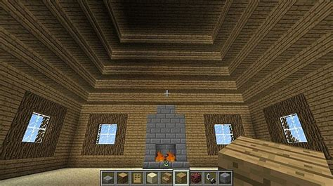 Cool Minecraft Cabins cool log cabin minecraft project