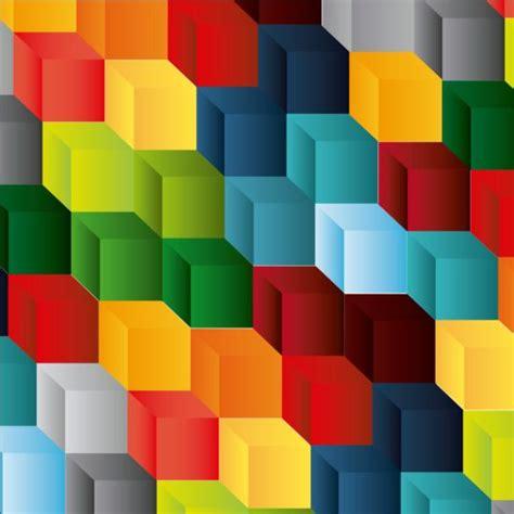 flower pattern on rubik s cube colored rubik cube pattern vector vector pattern free