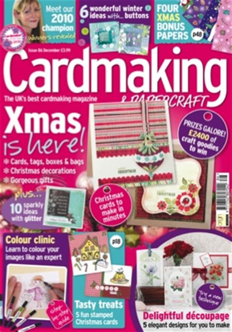 Cardmaking And Papercraft Magazine - cardmaking papercraft mag uk issue 86 clare s creations